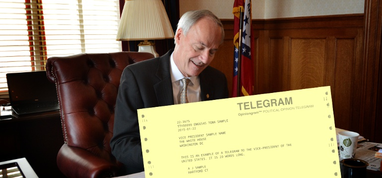[Photo] Telegram to the State Capitol Same Day Delivery
